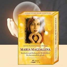 Maria Magdalena - Rückkehr und Heilung der Weiblichkeit - Orakelkarten