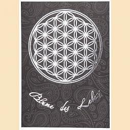Postkarte Blume des Lebens Postkarte s..