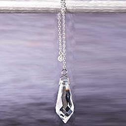 Kristall Pendel mit Swarovski Stein