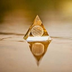Sphärenkristall Die Blume des Lebens