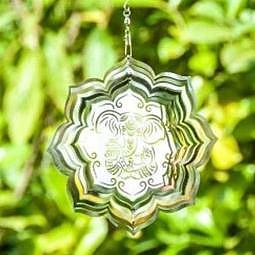Mobile Ganesha Lotus 15 cm