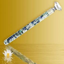 """Energiestab lang """"Spirituelles Wachstum"""" - Diamond-Waterstick"""