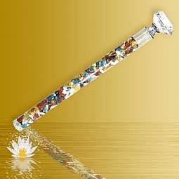 """Energiestab kurz """"Fastenzeit"""" - Diamond-Waterstick"""
