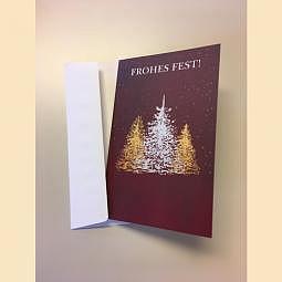 Karte Weihnachtskarte - Weihnachtsbaum