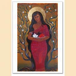 Postkarte Kunstdruck - Devi Mariam