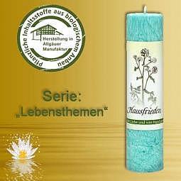 Allgäuer Heilkräuter-Kerze Hausfrieden