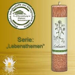 Allgäuer Heilkräuter-Kerze Loslassen