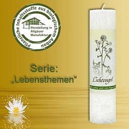 Allgäuer Heilkräuter-Kerze Lichtengel