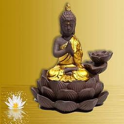 """Rückfluss-Kegel-Brunnen """"Buddha"""""""