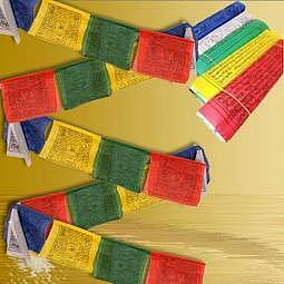 Tibetische Gebetsfahne 8 Meter