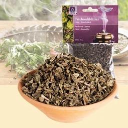 Patchouli Blätter - Räucherwerk von Dr. Berk