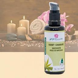 Massageöl & Körperöl Hanf BIO 50 ml