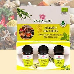 Aromaset zum Kochen - 3x 5 ml