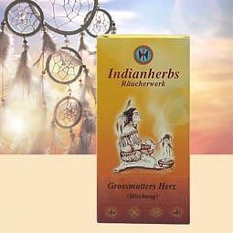 Indianherbs Grossmutters Herz - Räuche..