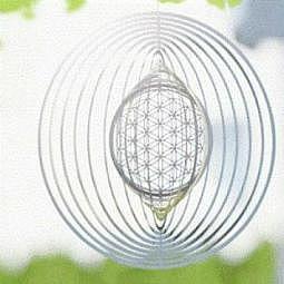Mobile Blume des Lebens 25.4 cm