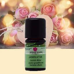 Jasmin Attar BIO 5ml - 100% naturreine..