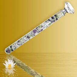 "Energiestab kurz ""Wundermischung"" - Diamond-Waterstick"