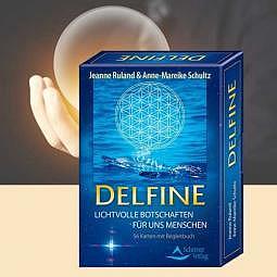 Delfine lichtvolle Botschaften - Orakelkarten