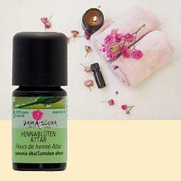 Hennablüten Attar BIO 5ml - 100% naturreines ätherisches Öl