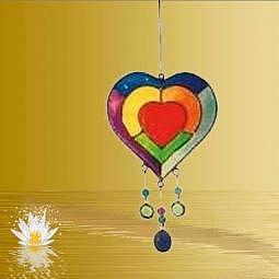 Suncatcher Herz