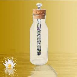 "Karaffe Artesia mit Energiestab ""Wundermischung"" - Diamond-Waterstick"