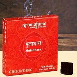 Aromafume Chakra-Weihrauchblöcke 1. Chakra