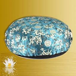 Meditationskissen Drachen türkis