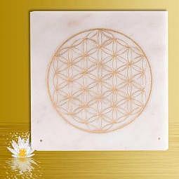 Goldene Blume des Lebens - Räucherstäbchenhalter