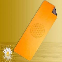 Yogamatte  TPE ecofriendly orange