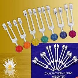 Stimmgabel Chakra Set - Lieferzeit ca. 10 Tage