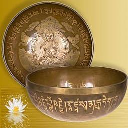 Klangschale Medizin Buddha ca. 29 cm - Lieferzeit ca. 10 Tage