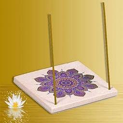 Räucherstäbchenhalter Mandala Blume