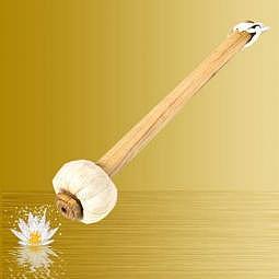 Trommel und Gong Klöppel 27 cm