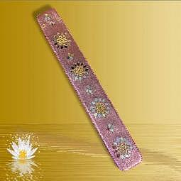 Kama rosa - Räucherstäbchenhalter / Kegelhalter