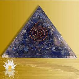 Orgon Pyramide Lapislazuli
