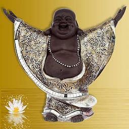 Buddha/Happy Buddha China stehend lachend