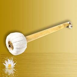 Trommel und Gong Klöppel 35 cm