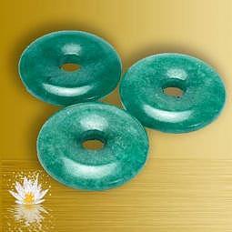 Anhänger Donut Aventurin