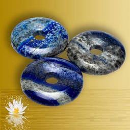 Anhänger Donut Lapislazuli