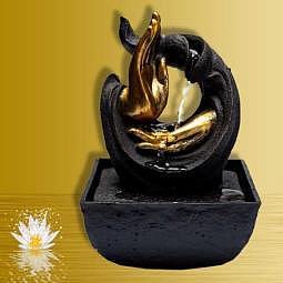 Zimmerbrunnen Mitgefühl Mudra 20 cm