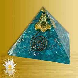Orgonpyramide Aquamarine