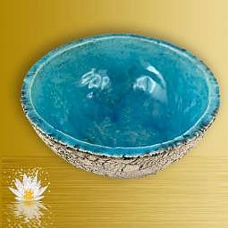 Räucherschale Türkis - Handmade - Nr. 4